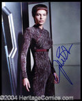 Autographs, Jolene Blalock Signed 8 x 10 Photo