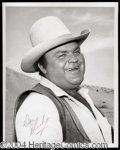 Autographs, Dan Blocker Bonanza Scarce Signed Photo