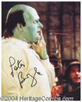 Autographs, Peter Boyle Signed Photo Young Frankenstein