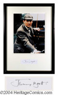 Autographs, Jeremy Brett Signed Framed Display