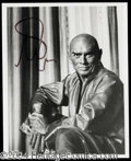 Autographs, Yul Brynner The King and I Signed Photo