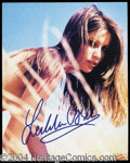 Autographs, Laetitia Casta Signed 8 x 10 Photograph
