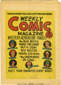 Golden Age (1938-1955):Miscellaneous, Weekly Comic Magazine 2nd version (Fox, 1940) Condition: FN....
