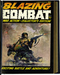 Magazines:Miscellaneous, Blazing Combat #1-4 Bound Volume (Warren, 1966)....
