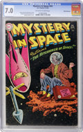 Golden Age (1938-1955):Science Fiction, Mystery in Space #24 White Mountain pedigree (DC, 1955) CGC FN/VF 7.0 Off-white to white pages....