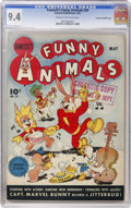 Golden Age (1938-1955):Funny Animal, Fawcett's Funny Animals #29 Crowley Copy pedigree (Fawcett, 1945)CGC NM 9.4 Cream to off-white pages....