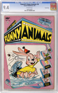 Golden Age (1938-1955):Funny Animal, Fawcett's Funny Animals #76 Crowley Copy pedigree (Fawcett, 1952)CGC NM 9.4 Off-white pages....