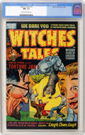 Golden Age (1938-1955):Horror, Witches Tales #13 (Harvey, 1952) CGC NM- 9.2 Cream to off-whitepages....