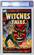 Golden Age (1938-1955):Horror, Witches Tales #19 (Harvey, 1953) CGC NM- 9.2 Cream to off-whitepages....