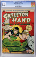 Golden Age (1938-1955):Horror, Skeleton Hand #2 (ACG, 1952) CGC NM- 9.2 Cream to off-whitepages....