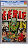 Golden Age (1938-1955):Horror, Eerie #8 Aurora pedigree (Avon, 1952) CGC FN/VF 7.0 Off-white towhite pages....