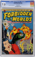 Golden Age (1938-1955):Science Fiction, Forbidden Worlds #2 (ACG, 1951) CGC FN/VF 7.0 off-white pages....
