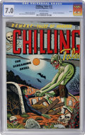 Golden Age (1938-1955):Horror, Chilling Tales #13 Aurora pedigree (Youthful Magazines, 1952) CGCFN/VF 7.0 Off-white pages....