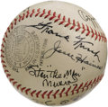 Autographs:Baseballs, 1940's-90's St. Louis Cardinals Hall of Famers Multi-SignedBaseball. The ONL (Frick) sphere upon which this incredible ass...
