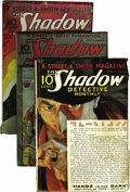 Pulps:Detective, Shadow Group (Street & Smith, 1932-34) Condition: AverageVG.... (Total: 3)