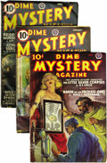 Pulps:Horror, Dime Mystery Magazine Group (Popular, 1935-40).... (Total: 6)