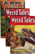 Pulps:Horror, Weird Tales Group (Popular Fiction, 1931-50) Condition: AverageVG+.... (Total: 10)