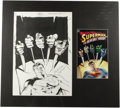 "Original Comic Art:Covers, Stuart Immonen and Jose Marzan Jr. - ""Superman vs. the RevengeSquad"" TPB Cover Original Art (DC, 1999). ..."