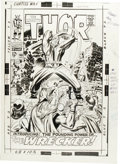 Original Comic Art:Covers, Jack Kirby and Vince Colletta - Thor #148 Cover Original Art(Marvel, 1968). ...