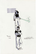 Original Comic Art:Sketches, Matt Wagner - Mage Sketch Original Art (1986). ...