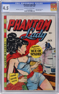 Phantom Lady #20 (Fox Features Syndicate, 1948) CGC VG+ 4.5 Off-white to white pages