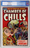 Golden Age (1938-1955):Horror, Chamber of Chills #23 File Copy (Harvey, 1954) CGC VF 8.0 Cream tooff-white pages....