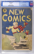 Platinum Age (1897-1937):Miscellaneous, New Comics #1 (DC, 1935) CGC VG 4.0 Cream to off-white pages....