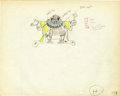 "Animation Art:Production Drawing, ""Mother Goose Melodies"" Animation Production Drawing Original Art(Disney, 1931)...."