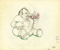 "Animation Art:Production Drawing, ""Mother Goose Goes Hollywood"" Animation Production Drawing OriginalArt (Disney, 1938)...."