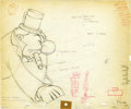 "Animation Art:Production Drawing, ""Mother Goose Goes Hollywood"" Animation Production Drawing OriginalArt (Disney, 1938).... (Total: 2)"