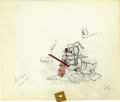 "Animation Art:Production Drawing, Donald Duck ""Autograph Hound"" Animation Production Drawing OriginalArt (Disney, 1939). ..."