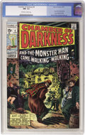 Bronze Age (1970-1979):Horror, Chamber of Darkness #4 (Marvel, 1970) CGC NM- 9.2 Off-white towhite pages....