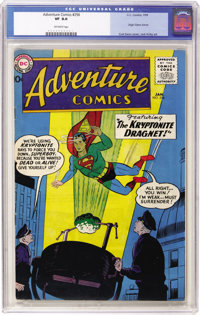 Adventure Comics #256 (DC, 1959) CGC VF 8.0 Off-white pages