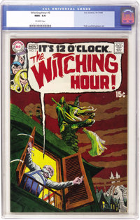 The Witching Hour #5 (DC, 1969) CGC NM+ 9.6 Off-white pages