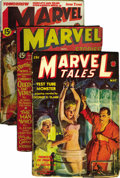 Pulps:Science Fiction, Marvel Science Stories and Marvel Tales Group (Red Circle,1938-1940) Condition: Average VG+.... (Total: 6)
