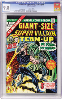 Giant-Size Super-Villain Team-Up #1 (Marvel, 1975) CGC NM/MT 9.8 White pages