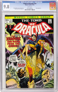Bronze Age (1970-1979):Horror, Tomb of Dracula #14 (Marvel, 1973) CGC NM/MT 9.8 White pages....