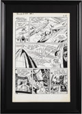 Original Comic Art:Panel Pages, Wally Wood and Dan Adkins - T.H.U.N.D.E.R. Agents #1, page 58 Original Art (Tower, 1965). ...