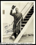 Autographs, Maurice Chevalier Signed Vintage Photograph