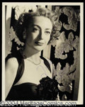Autographs, Joan Crawford Signed Vintage 8 x 10 Photo