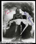 Autographs, Creature from the Black Lagoon Signed Photo