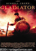 Autographs, Russell Crowe Signed Gladiator Poster