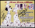 Autographs, Disney's 101 Dalmatians Signed 8 x 10 Photo