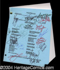 Autographs, Days of Our Lives Cast Signed Script