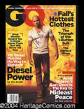 Autographs, Vin Diesel Signed GQ Magazine Triple X