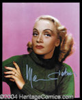 Autographs, Marlene Dietrich Terrific Signed Photograph