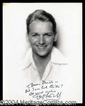 Autographs, Douglas Fairbanks, Jr. Signed Vintage 8 x 10 Photo