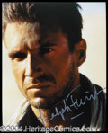 Autographs, Ralph Fiennes Signed English Patient Photo