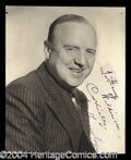 Autographs, William Frawley Signed Vintage Photograph