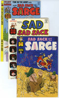 Bronze Age (1970-1979):Humor, Sad Sack and the Sarge - File Copy Group (Harvey, 1962-82)Condition: Average NM-.... (Total: 26 Comic Books)
